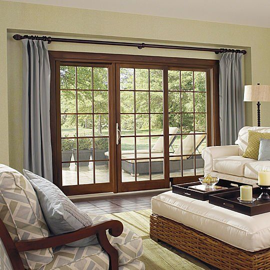 French Doors Patio With Screens