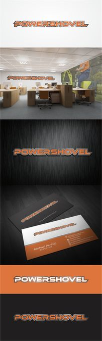 create an iconic logo brand for POWERSHOVEL Australia by [KSATRIA]99