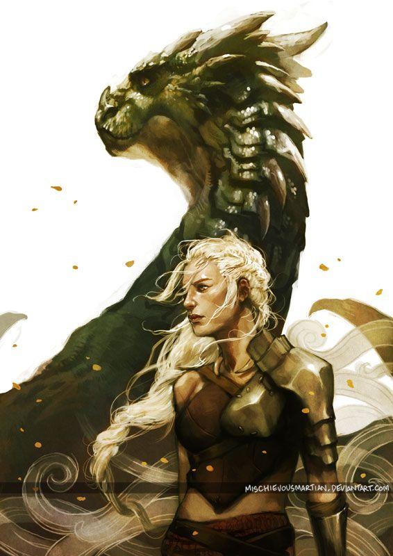 Daenerys Targaryen - Kayleesee from G.R.R Martin's 'Game of Thrones' epic series.