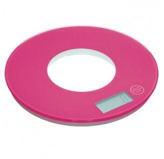 Báscula electrónica rosa http://tienda.marialunarillos.com/utensilios-basicos/2663-bascula-electronica-rosa.html