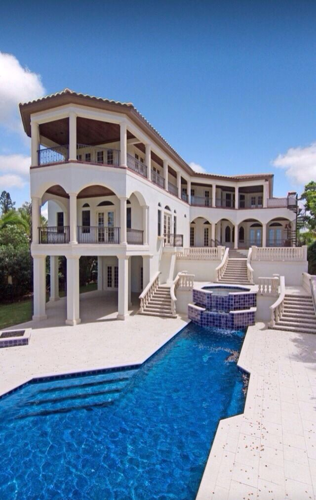 372 Best Images About Mediterranean Style Homes On Pinterest Mansions Mediterranean Style