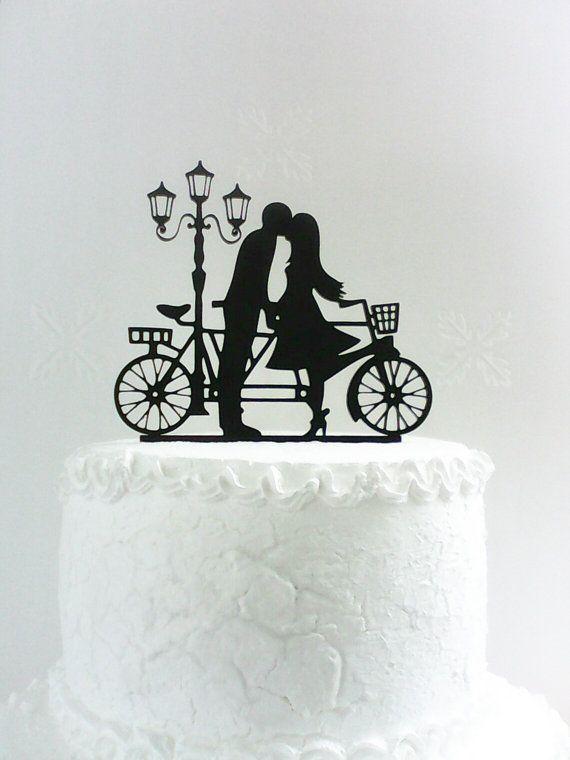 Sagoma di Wedding cake topper di CakeTopperDesign su Etsy