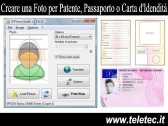 Come Fare Foto per Passaporto, Patente e Altri Documenti