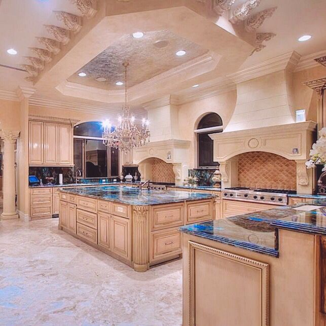 Best Mansion Kitchen Ideas On Pinterest Luxury Kitchens