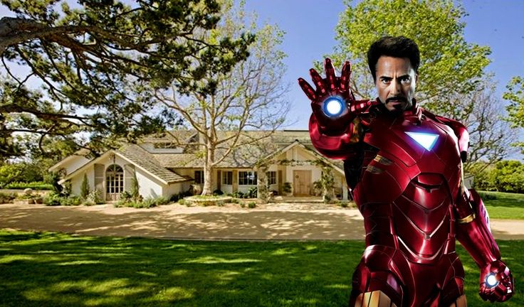 Robert Downey jr's House - 2015 (Inside & Outside) - [ Iron Man ]