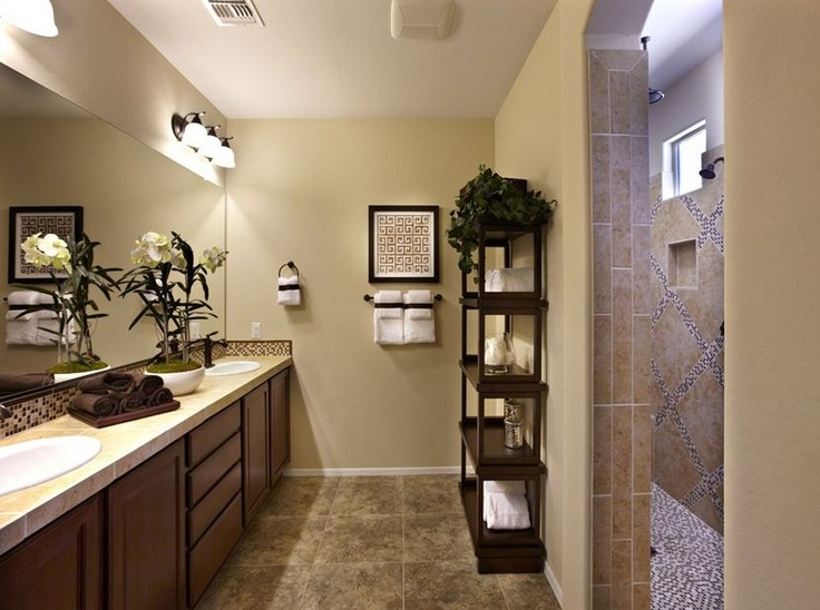 Pulte Master Baths are spacious enough for two. | Pulte Homes ...