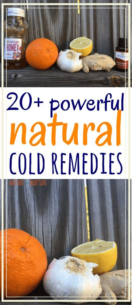 Discover over 20 of the best natural cold remedies for cold and flu season to help you stay healthy through the colder months.