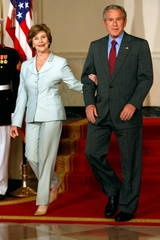 The Marriage of President George Bush and First Lady Laura Bush