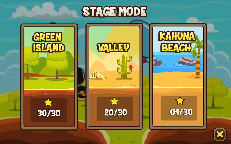 Chicken Clash : Stage mode
