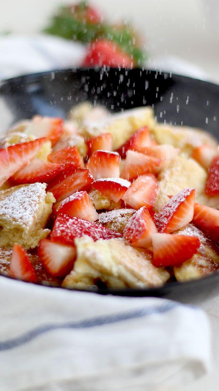 Kaiserschmarrn mit Erdbeeren