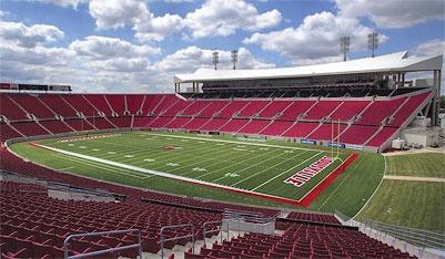 Papa John's Stadium at the University of Louisville