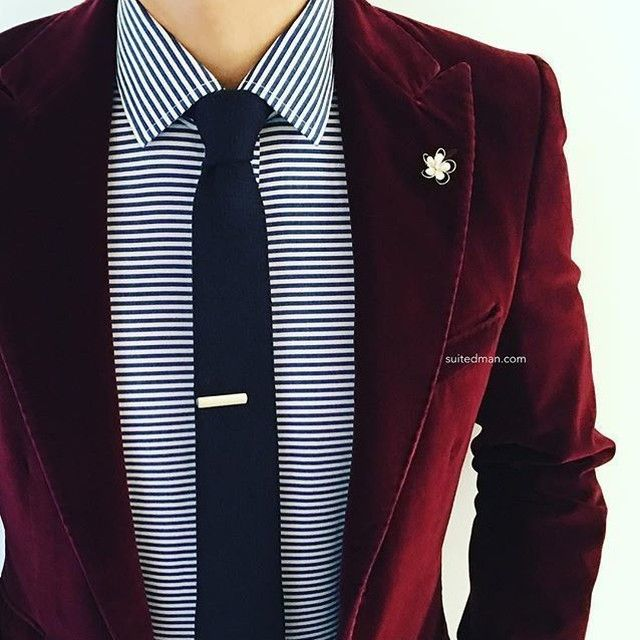 Loving the accessories and stylings from @Suited_Man including their wide selection of tie clips and lapel pins | Get them now at www.suitedman.com | Follow @suited_man #suitup @suitedmanstyle