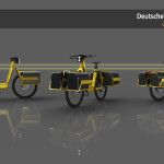 An e-bike for Deutsche Post by Luke Guttery