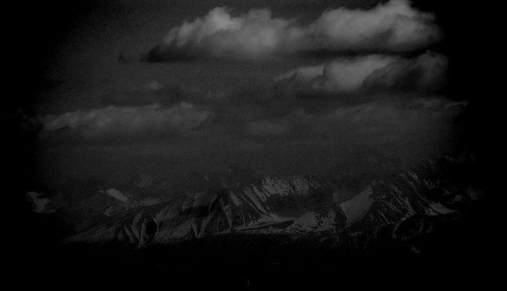 widok z Babiej Góry na Tatry