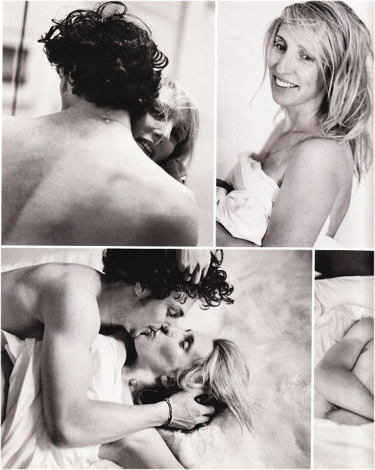 Aaron Johnson and his wife Sam Taylor-Wood in Vogue Germany August 2010