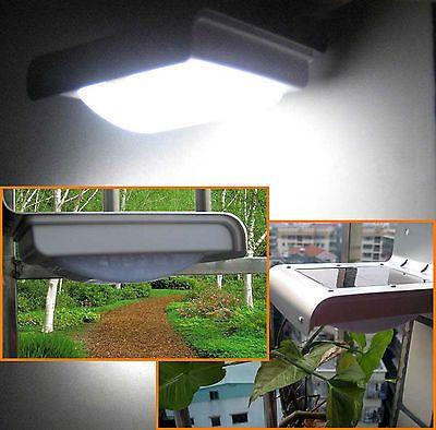 4 x Solar LED-Nachtlicht mit Infrarot-Bewegungsmelder Sparpaket !!!! Haus Hof und Garten etwas sicherer machen !