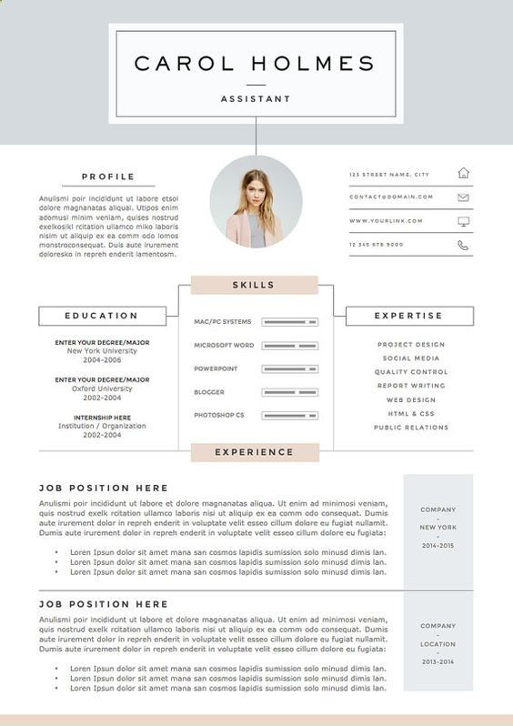The 25+ best Curriculum vitae online ideas on Pinterest Creative - free eye catching resume templates