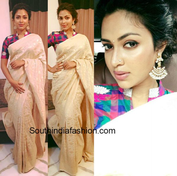 Amala Paul in a saree