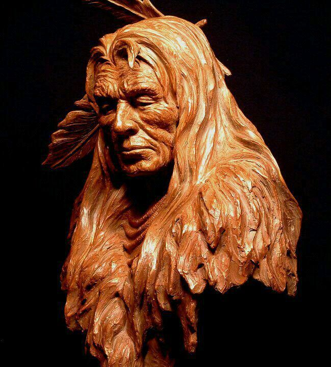 Wood sculpture.....