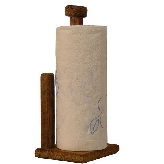 Paper Towel Holder by RustedNailBarnwood on Etsy, $20.00: Paper Towel Holders, Paper Towels Holders