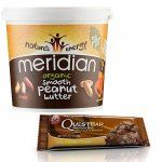 2KG Meridian Peanut butter 8.08 / Choc Brownie Quest bars (Short date) 12 for 11.99 - Using BOGOHP offer  Extra 10% code @ Holland and Barrett (Free C&C)