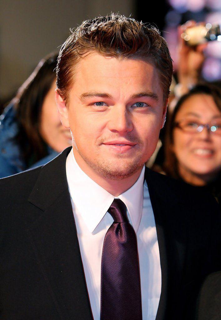 Leonardo DiCaprio Messy Cut