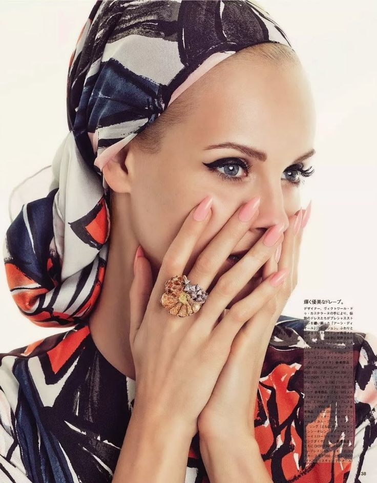 Ginta Lapina by Andreas Sjödin for Vogue Japan December 2014 [Editorial]