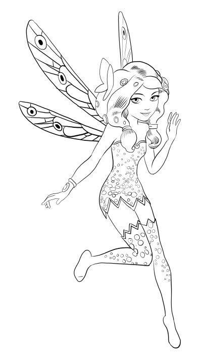 8 best mia and me coloring free images on pinterest free - Coloriage de mia et moi ...
