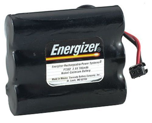 Energizer P-7302 Cordless Phone Power Pack by Energizer. $9.70. 700 mAh total capacity, 3.6 volts. For popular Cobra, Panasonic, SW Bell, Uniden, and other models. Replacement battery for cordless phones. Nickel Cadmium formulation. Energizer cordless phone batteries offer the long life and consistently reliable performance you need to get the most out of your cordless phone, thanks to advanced engineering and state-of-the-art manufacturing.Quality -  Energizer cordless phone bat...