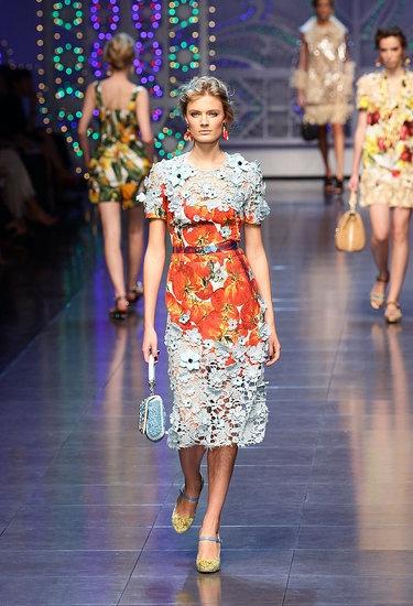 Orange and  Blue - Dolce Gabbana