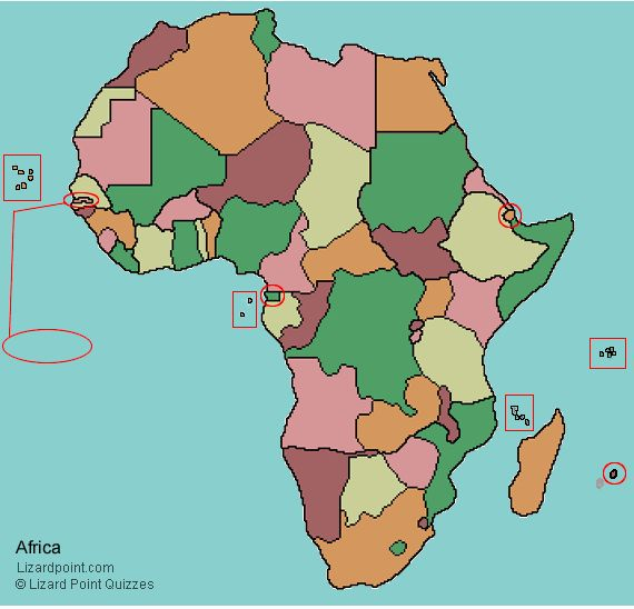 Best Africa Quiz Ideas On Pinterest South Africa Holidays - democratic republic of the clickable map