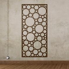 Vinilos Decorativos: Lámina estampado abstracto de círculos ideal para decorar espejos, paredes o puertas #vinilo #decoración #pared #espejo #puerta #deco #vegetación #TeleAdhesivo