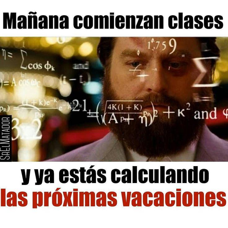 Falta bastante para las vacaciones. #regresoaclases #backtoschool #estudiante #estudiantes #universidad #colegio #escuela #vacaciones #SrElMatador #ElSalvador #SrElMatador http://www.srelmatador.com #Foto