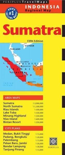 Periplus Travel Maps Sumatra & Medan: Indonesia Regional Map