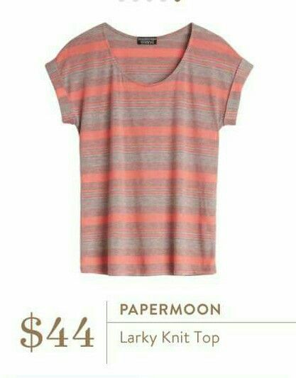 Papermoon Larky Knit Top - cute, but would want to size up for looser fit.