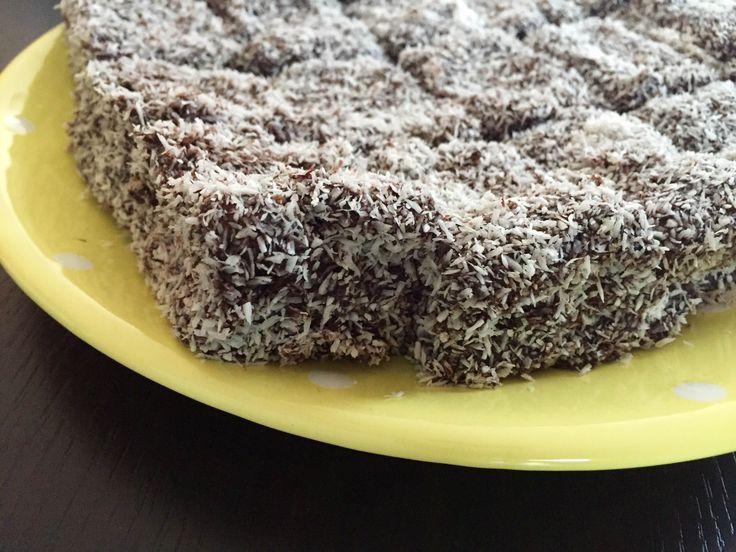 Egyszerű kókuszkocka glutén, tej-és cukormentesen (IR-barát recept)