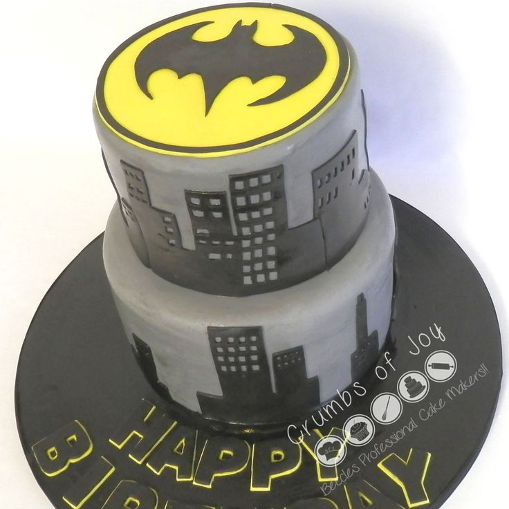 #BatmanFans #Beccles Surprise your loved ones with this batman themed celebration birthday cake