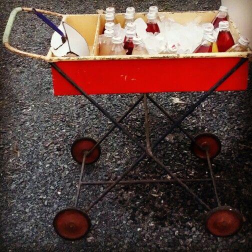 Vintage drink trolleys