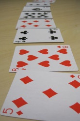 Tons of math games to play with cards on this website!