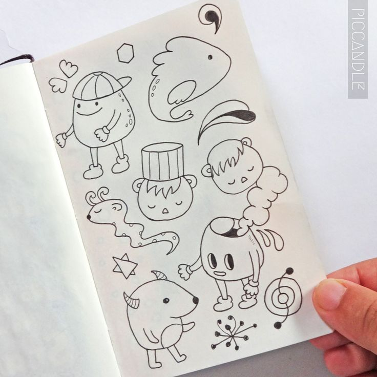 126 best images about pic candle doodles on pinterest for Doodle characters