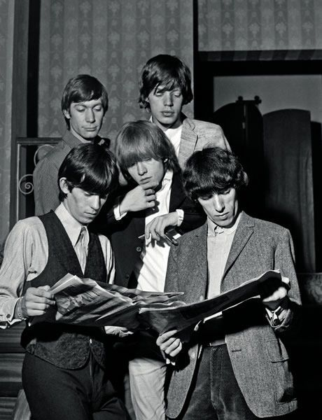 The Rolling Stones read.
