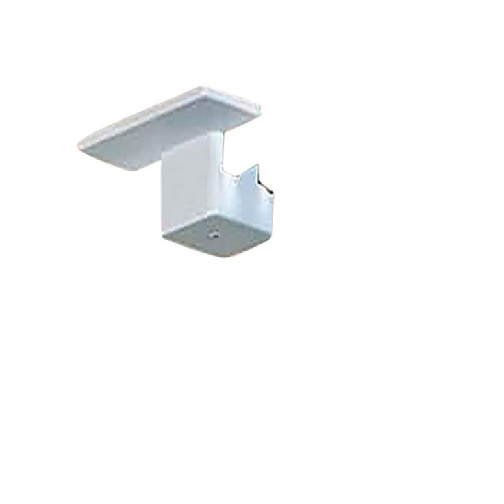 Track Lighting White Plastic Floating Canopy for Track Lights (Renovator's Supply)