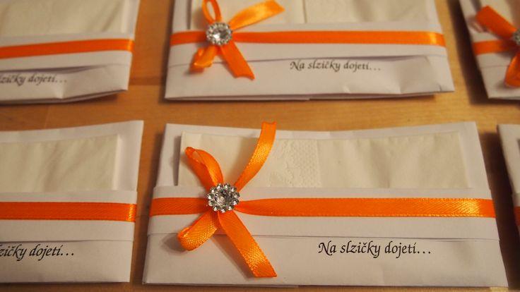 wedding tissue for tears of joy by www.svatbyodvery.cz