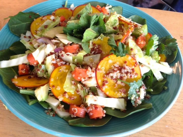 Warm Beet Quinoa Salad