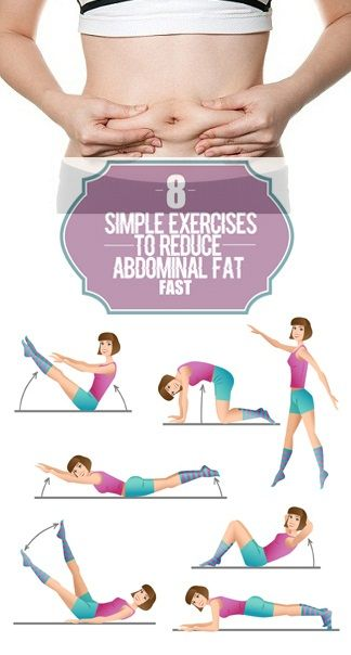 how to lose lower abdomen fat fast