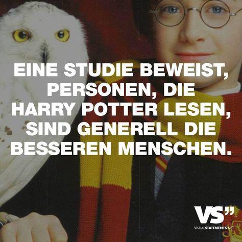 Eine Studie beweist, Personen, die Harry Potter lesen, sind generell die besseren Menschen