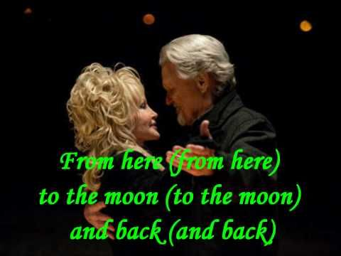 From Here to the Moon and Back (with lyrics) - Joyful Noise - Dolly Parton, Jeremy Jordan & Kris Kristofferson... Love this song. Dolly is so amazing!! <3