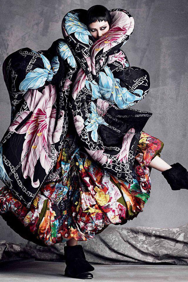 The icons of perfection vogue japan september 2014   Yohji Yamamoto/山本耀司