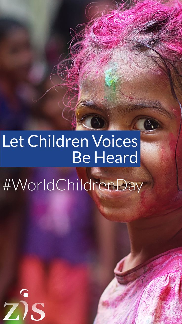 Let Children Voices Be Heard. Protect your child with great and affordable health care at Zein Insurance Services.  #WorldChildrenDay