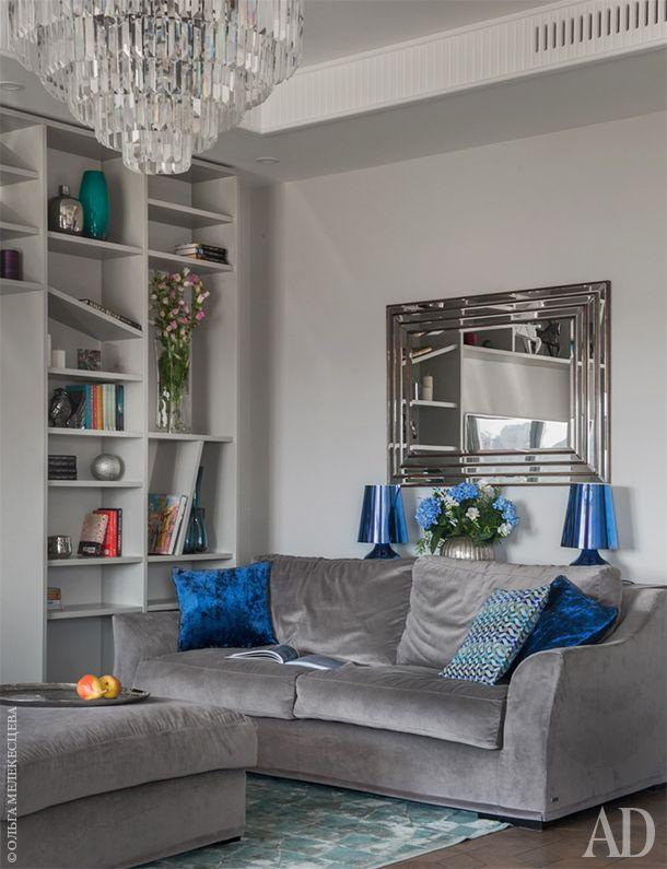 Московская квартира 94 м2 от Надежды Каппер с шикарным видом - Дизайн интерьеров | Идеи вашего дома | Lodgers
